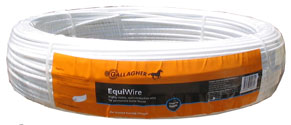 Gallagher 500ft. Non-Conductive EquiWire - White