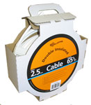 Gallagher 65ft HD Underground Cable - White