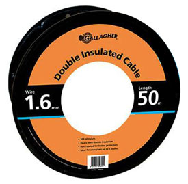 GALLAGHER 165ft HD Underground Cable - Black