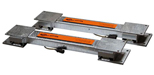 Gallagher Manual Squeeze Chute Loadbars